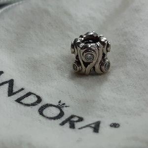 🌟 PANDORA Charm with Stones